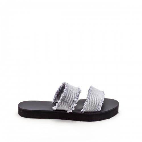 Greek Salad Vai Grey sandals
