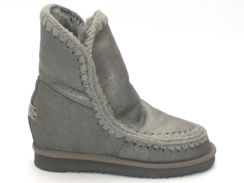 mou boots eskimo new metal grey inner wedge niutrack