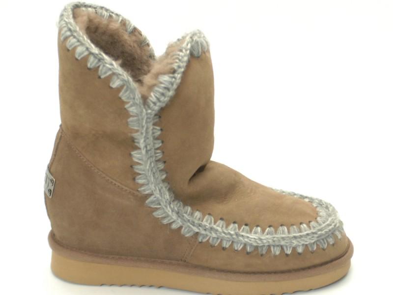 miglior sito web 54320 e08d7 Mou Boots Eskimo Suede Inner Wedge