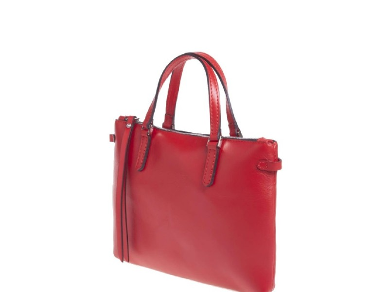 a4d103471b Gianni Chiarini Party Red Leather Medium Handbag - Niutrack.com