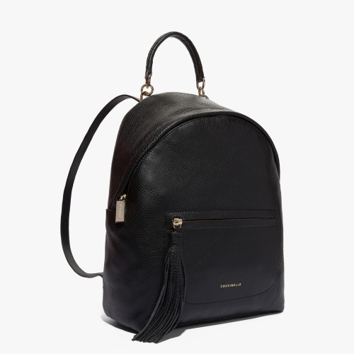 Coccinelle Leonie black backpack