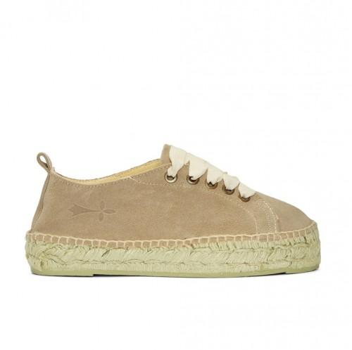 Manebi hamptons taupe sneakers