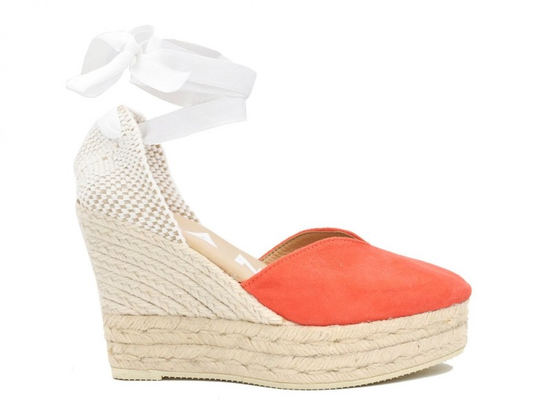 a6e14365bbd Manebi Hamptons Wedge Grapefruit Pink - Niutrack.com