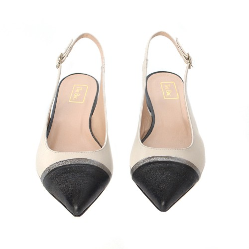 The-bag-leather-black&white-slingback-flats (1)