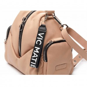 Vic-Matie-Carol-Mini-Backpack-Pink 1