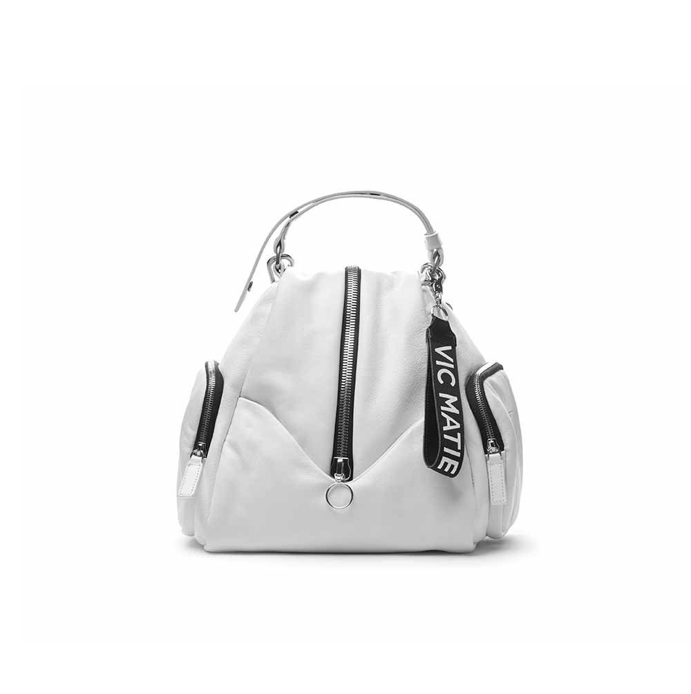 Vic Matie Carol White Backpack