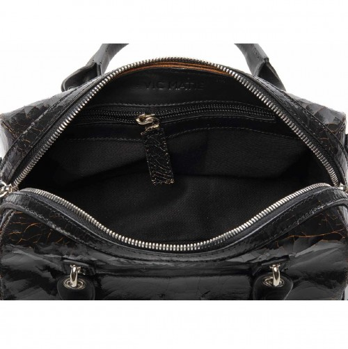 Vic-Matie-Peggy-Crackled-Leather-Mini-Bowler-Bag 1