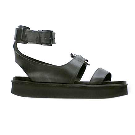 2863b8bef8f Vic Matie Black Flatform Sandal with Piercing - Niutrack.com