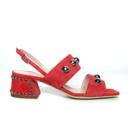Alberto Gozzi Red Sandals