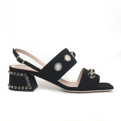 Alberto Gozzi black sandals