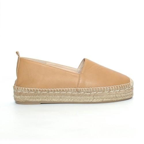 Carmen-Saiz-leather-Espadrilles