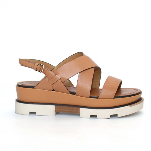 Elvio Zanon Flatform sandals