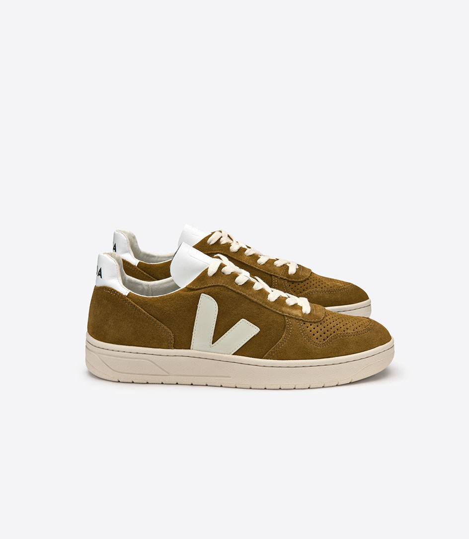 size 40 shades of where can i buy Veja V10 Suede Camel White Sneakers - Niutrack.com