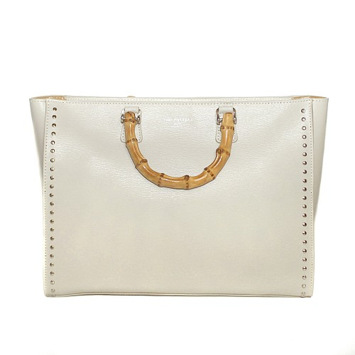 Christian Villa cream Leather