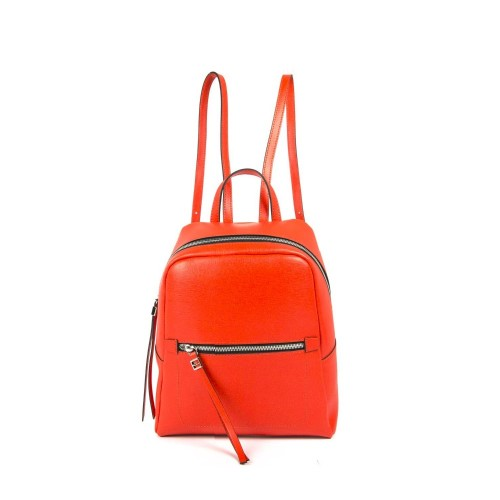 Gianni Chiarini red leather backpack