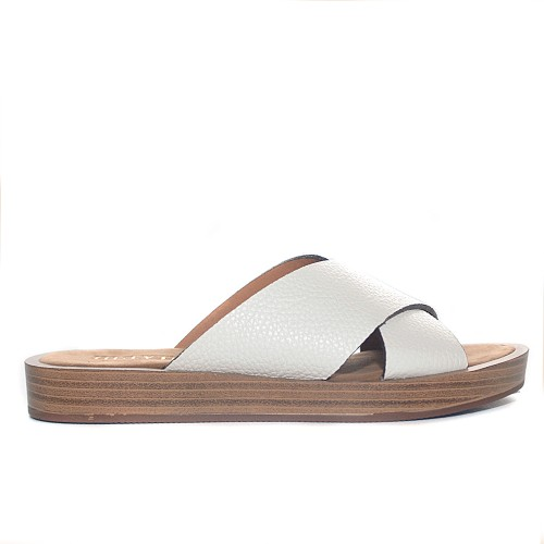 MAYPOL WHITE SANDALS