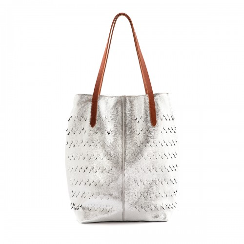 Nanni Silver Laser cut SHOPPER