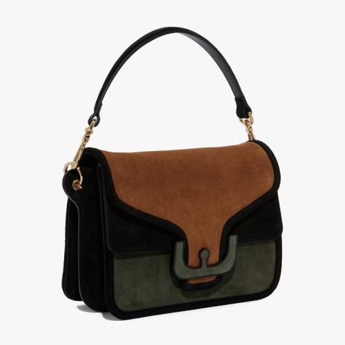 Coccinelle Ambrine Suede Soulder Bag 1