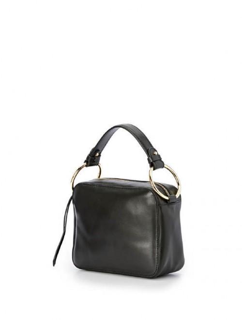 Gianni Chiarini Small Black Leather Handbag1