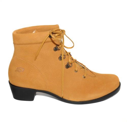 Loints Opera Mustard Nubuck Ankle Boots 1