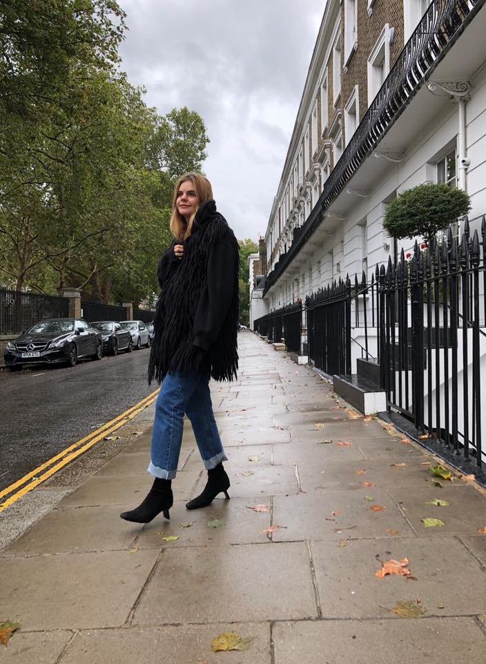 Miista Genevieve Black Suede Stretch Boots