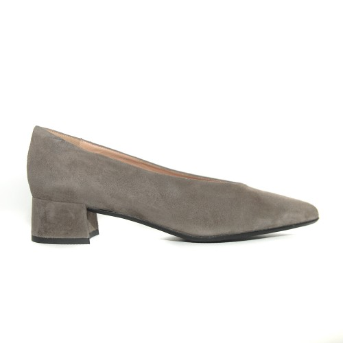 Niutrack by The Bag grey suede pumps1