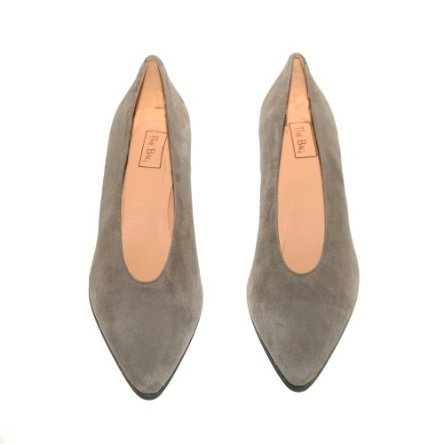 Niutrack by The Bag grey suede pumps2