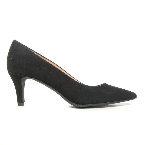 Niutrack by The bagblack suede pumps1