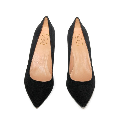 Niutrack by The bagblack suede pumps2