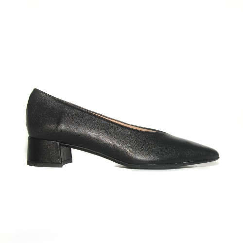 Niutrack by the Bag black leather pumps1