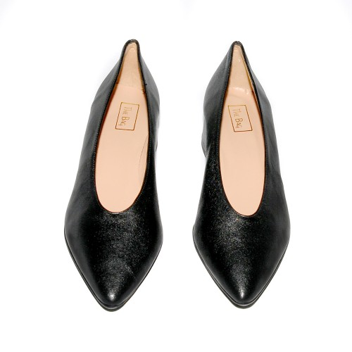Niutrack by the Bag black leather pumps2