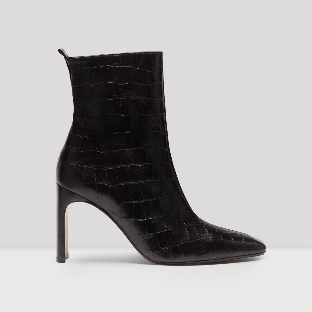 miista marcelle black croc leather boots (1)