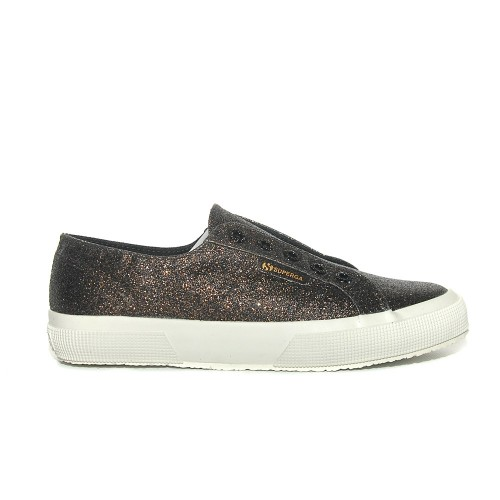superga2750 microglitter black gold 1
