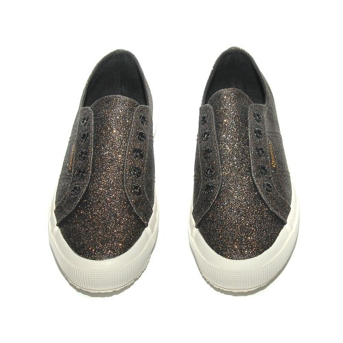 superga2750 microglitter black gold 2