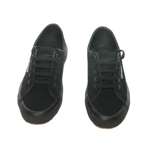 superga2750 suede black 2