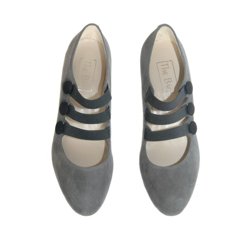 The-Bag-Grey-Suede-Medium-Heel-Pumps-Elastic-Bunds2