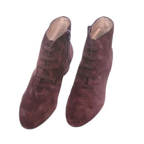 The-Bag-Merlot-Suede-Ankle-Boots-Elastic-Laces2