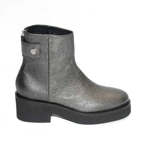 Vic Matie Metal Graphite Ankle Boots1