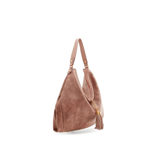 Abbacino Eco Leather Tan Large Hobo Bag