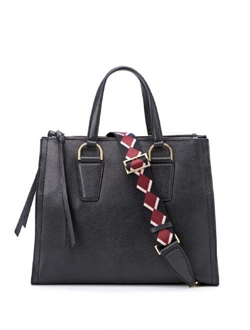 Gianni-Chiarini-Elettra-Black-Leather-Large-Tote-Bag2