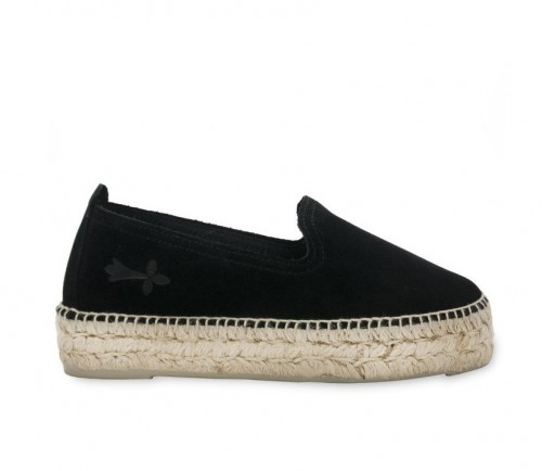 MANEBI HAMPTONS SLIPPERS BLACK