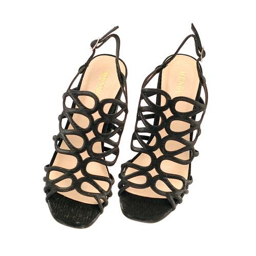 Menbur-vertova-black-high-heels-textile-strap