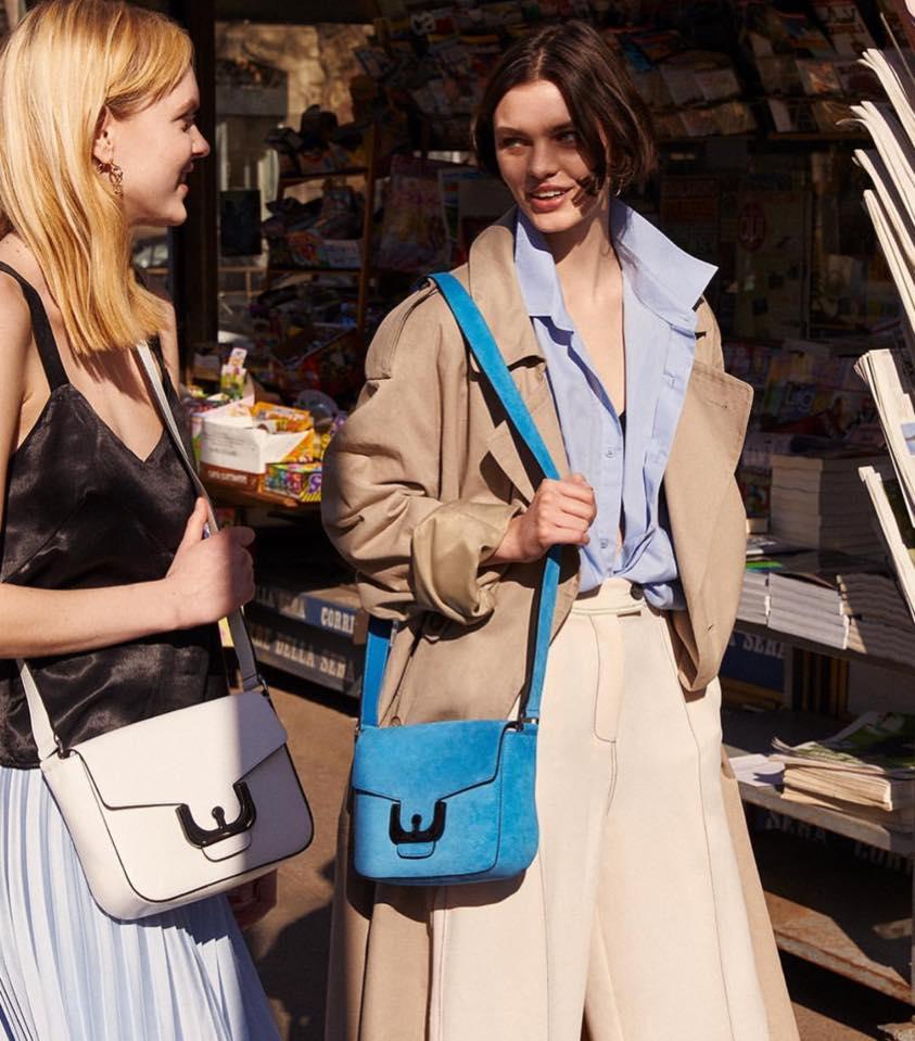 Coccinelle Ambrine Leather Crossbody Bag