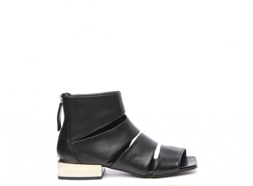 Vic Matie peep toe ankle boot