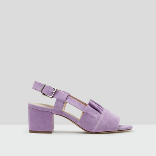 E8 by Miista romeo lilac suede mid heels