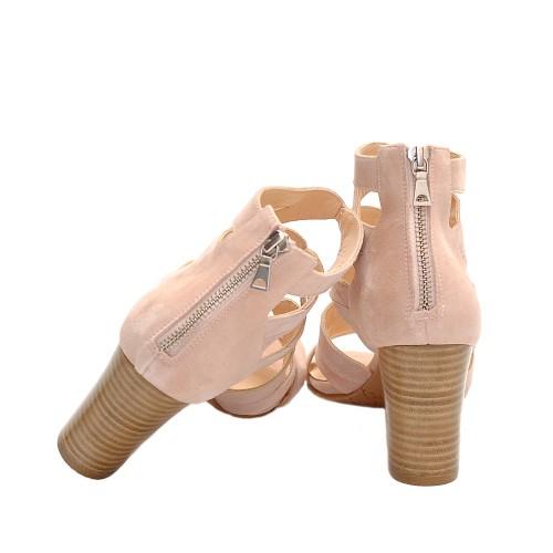 The-bag-leather-nude-multi-strap-block-heel-sandals