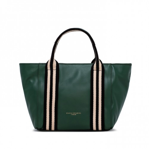 Gianni chiarini ginger green leather handbag