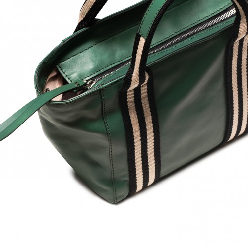 Gianni-chiarini-ginger-green-leather-handbag