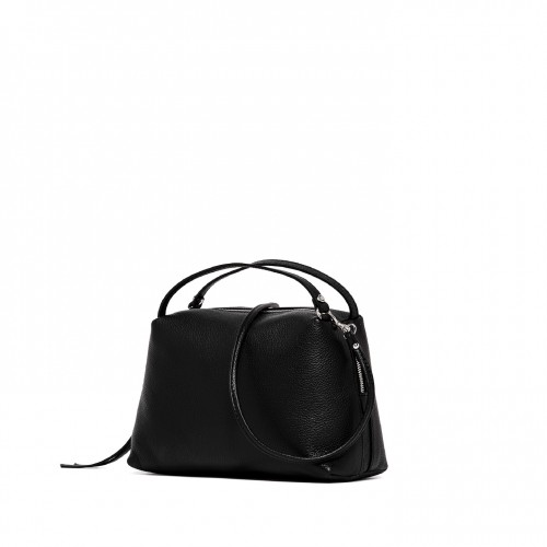Gianni-chiarini-alifa-medium-black-leather-bag