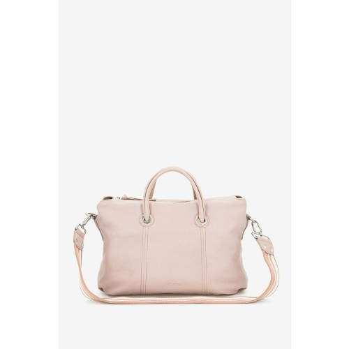 Abbacino Pale Pink Leather Shopper Bag